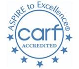 logo for Commission on Accreditation of Rehabilitation Facilities