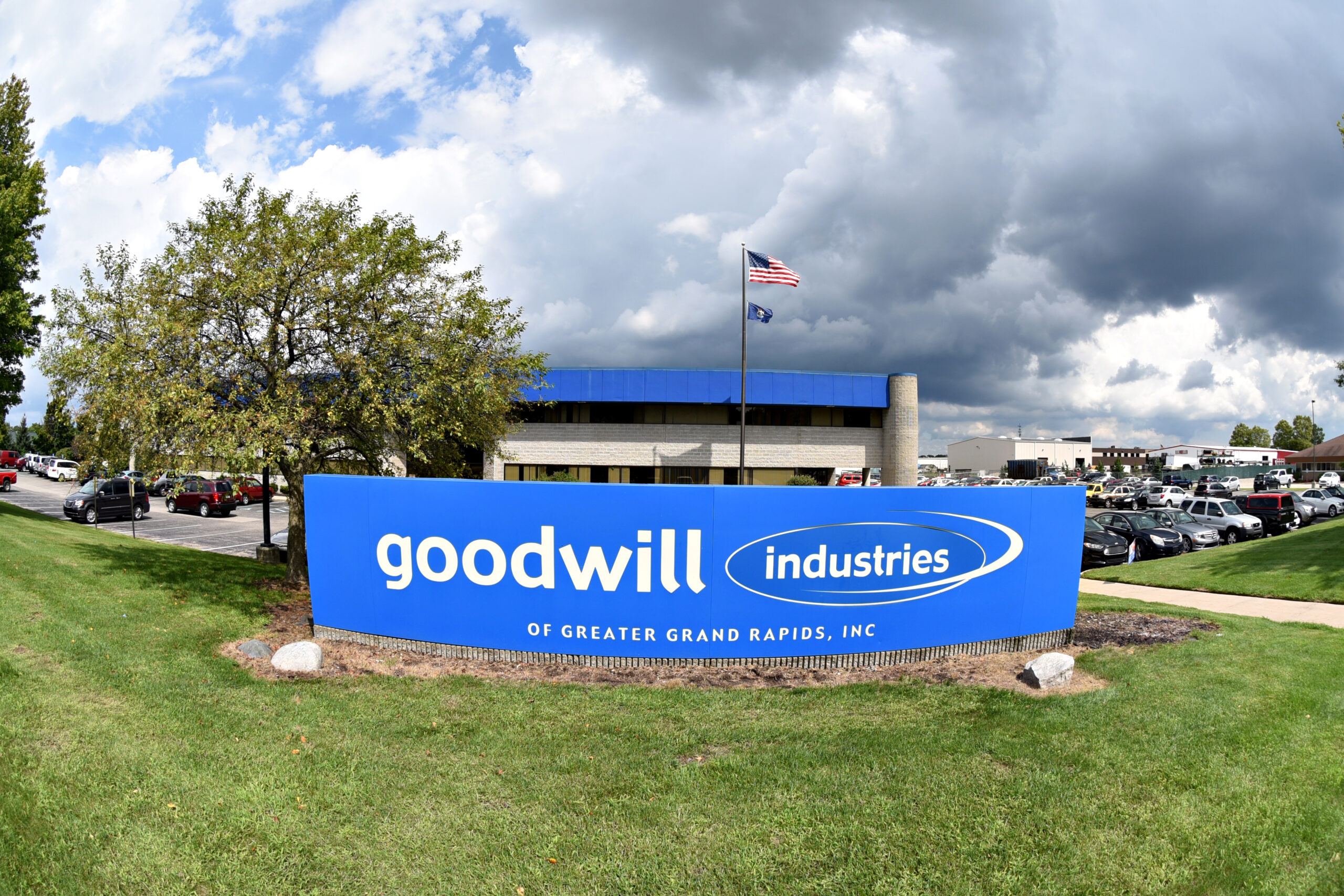 exterior of Goodwill headquarters